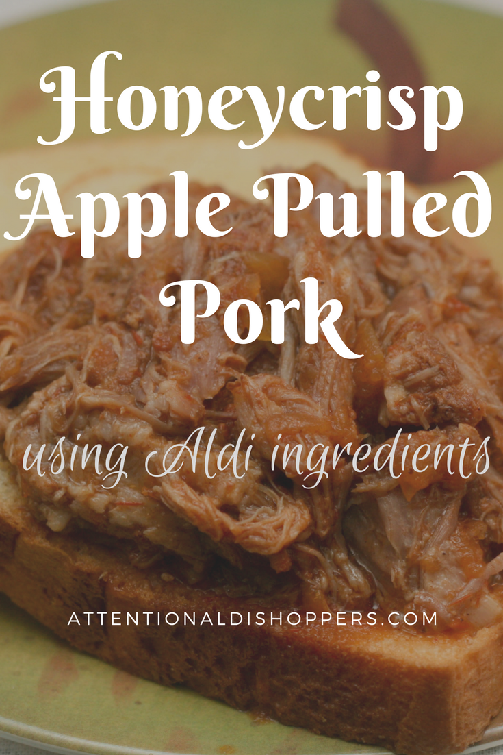 Honeycrisp Apple Pulled Pork Slow Cooker Recipe