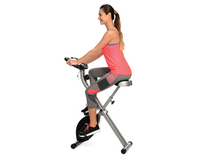 d63b6c6b7db I was interested in this because while we had an exercise bike some years  ago, there is really no good place to put it in our home where we 1.  wouldn't be ...